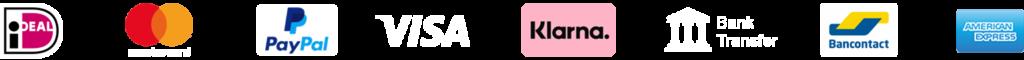 Sanisolid - Betalen - Betalings-logos